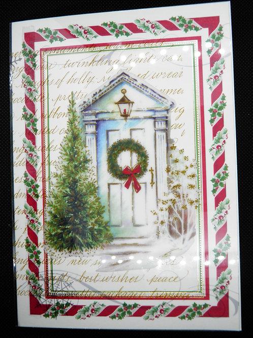 Christmas - Wreath/Doorway