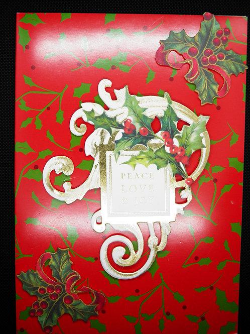 Christmas - Peace, Love & Joy