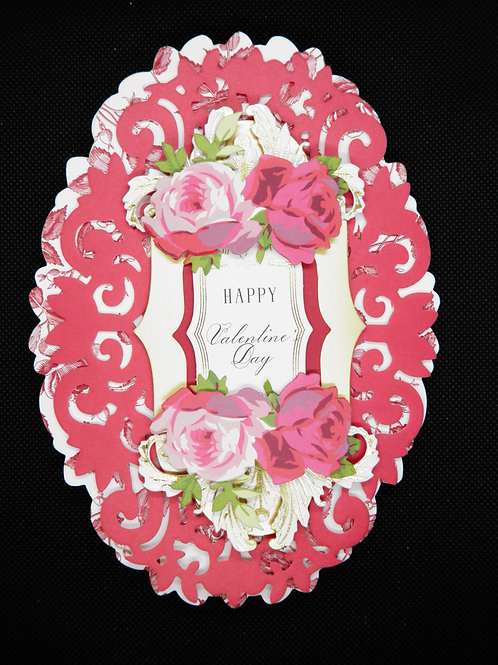 Valentines Easel Card - Happy Valentines Day