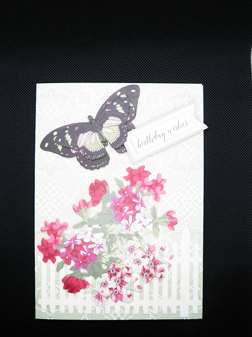Birthday Card -Butterfly - Birthday Wishes