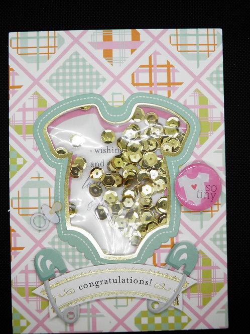 Newborn Card - Congratulations