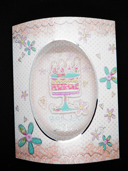 Birthday Card -3D - Celebrate Your Day