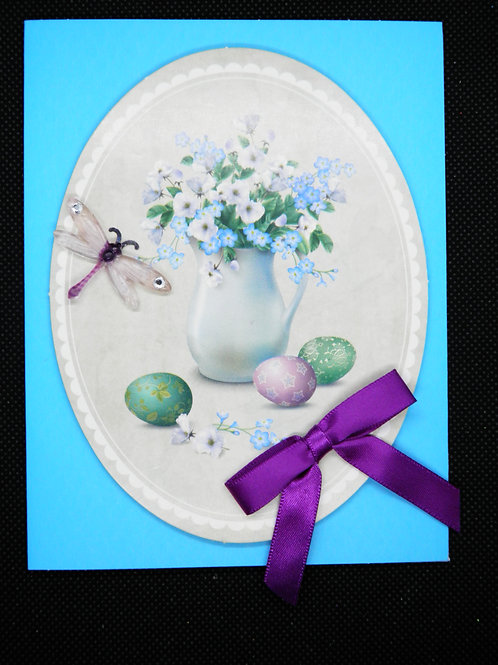 Easter Card - Flower Pot