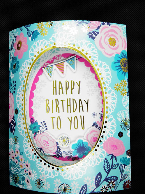 Birthday Card- 3D - Hope You Have the Best Birthday