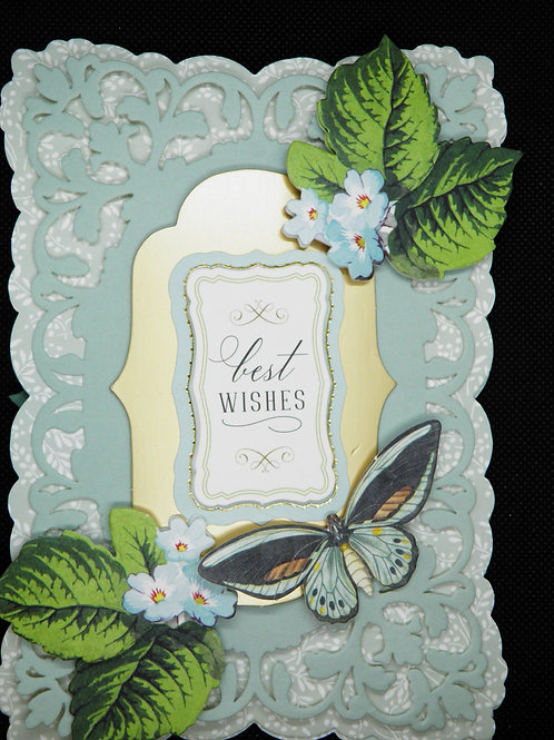 Birthday Easel Card - Best Wishes