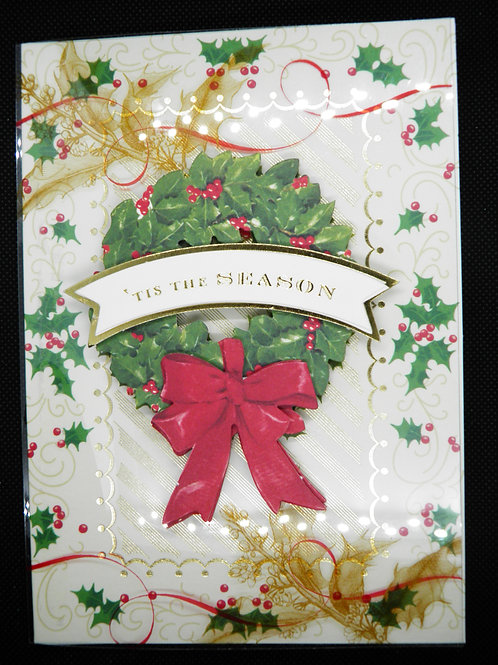 Christmas- Easel Card - 'Tis the Season