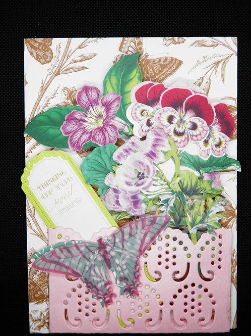 Friendship card -Thinking Of You Sweet Friend