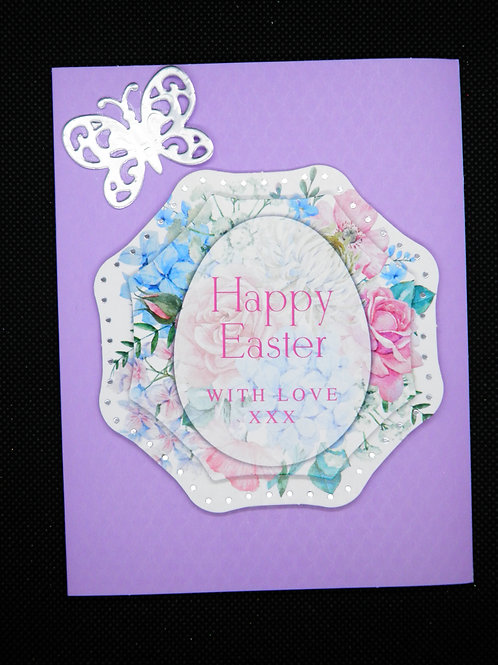 Easter Card - Happy Easter With Love