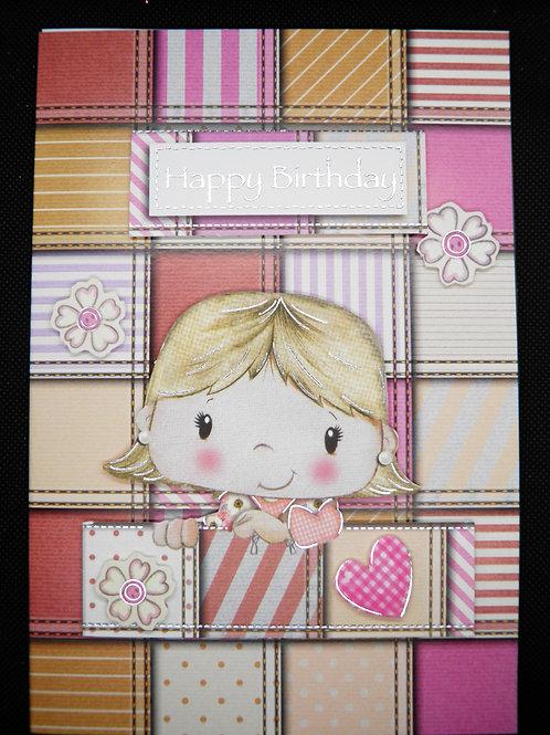 Kids Card - Happy Birthday