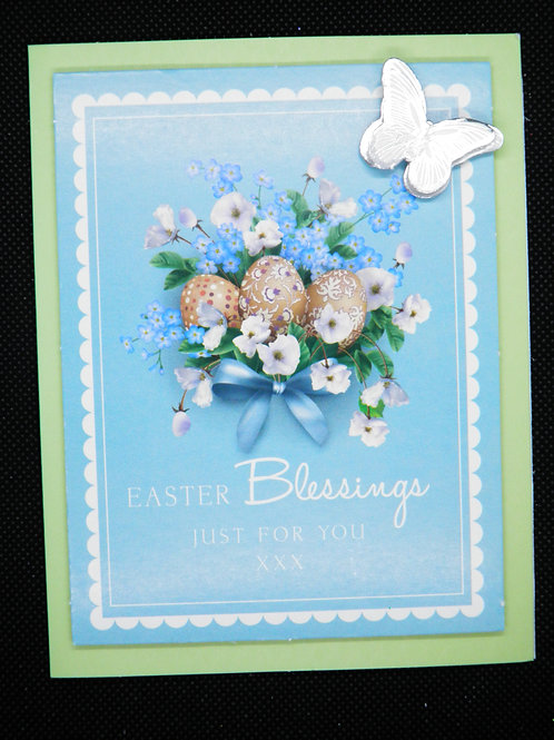 Easter Card - Easter Blessings Just For You
