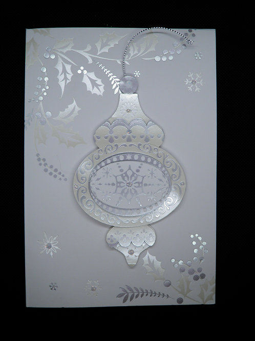 Christmas - Silver Ornament