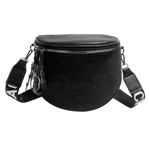 Women's  Small  Shoulder Bucket Bag Crossbody Tote Bag Semicircle Saddle