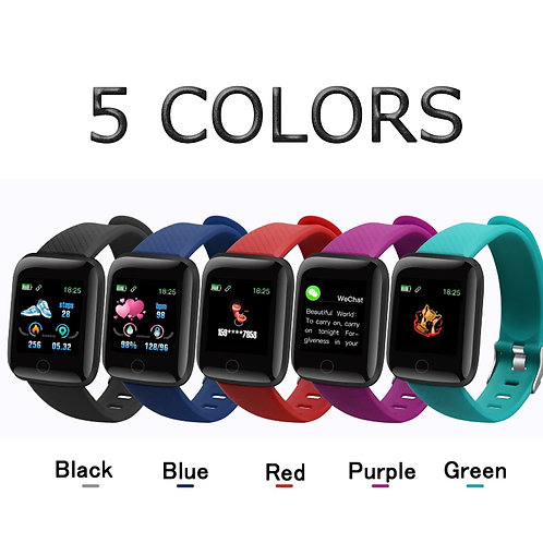 Smart Watch Fitness Tracker Blood Pressure Fitness Band Sports