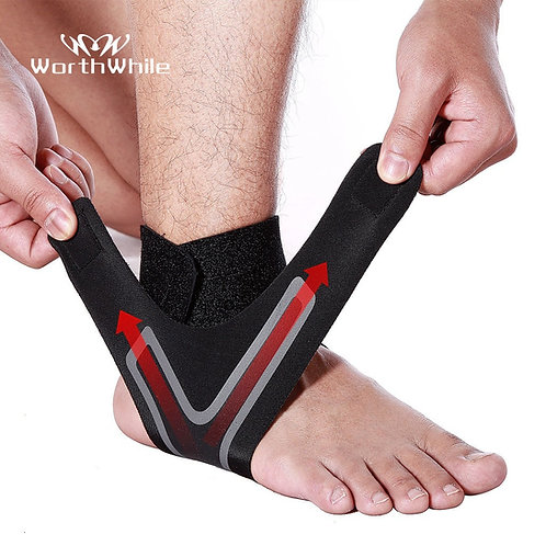 1 PC Fitness Sports Ankle Brace Gym Elastic  Ankle Support Foot  Protector Legs