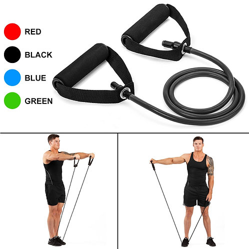 120cm  Pull Rope Resistance Bands Fitness Gum Elastic Bands Fitness Equipment