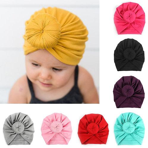 Baby Cotton Headband Soft Rabbit Bowknot Turban