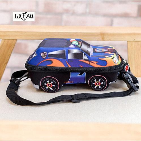 3D Car Children Backpacks