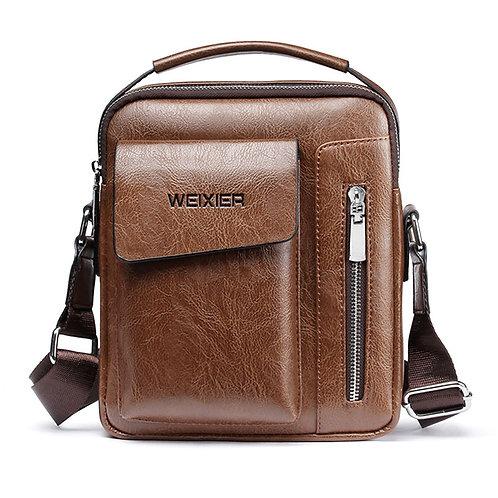 Men Shoulder Bag Vintage Crossbody Bags High Quality  PU Leather