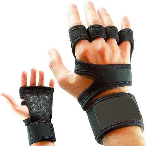 Weight Lifting Fitness Gloves Gel Full Palm Protection Gym Workout Protector