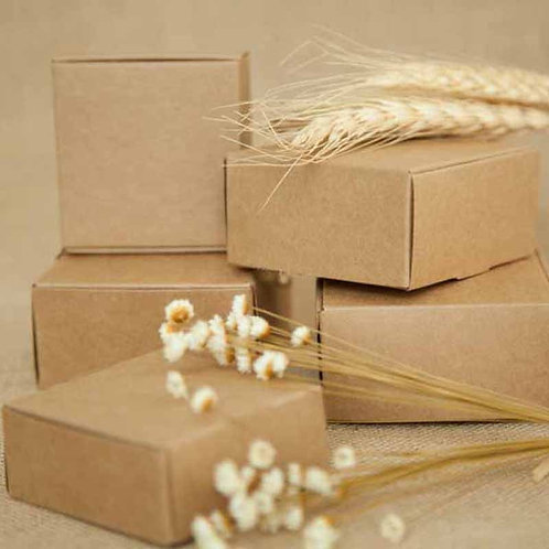 New Style DIY Kraft Pape Gift Box for Wedding, birthday / Christmas  Gift Pack