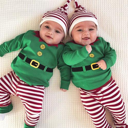 Baby Boy/Girl  Christmas New born  Long Sleeve Jumpsuit
