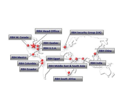 RBH Security Locations