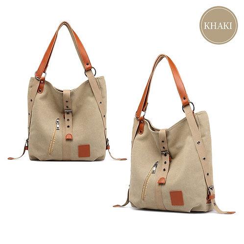 Canvas Shoulder  Multifunction  Bag Large Capacity
