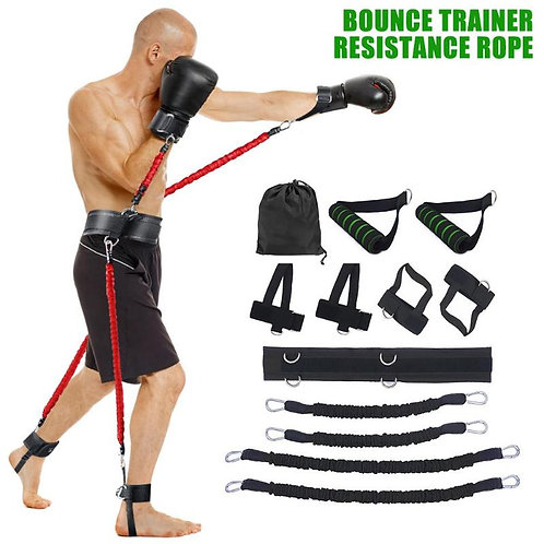 Sports Fitness Resistance Bands Stretching Strap Set for Leg Arm Exercises