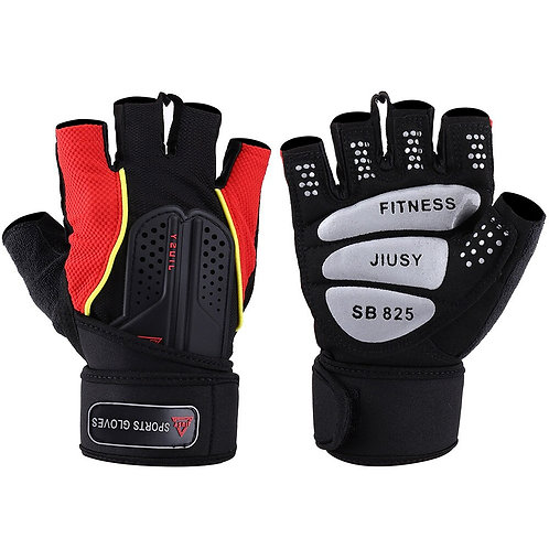 Strong Fitness Gym Half Finger Gloves