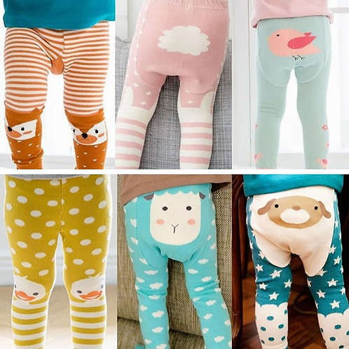 Children Tights Baby Girls Boys  Pants Cute Animal tights