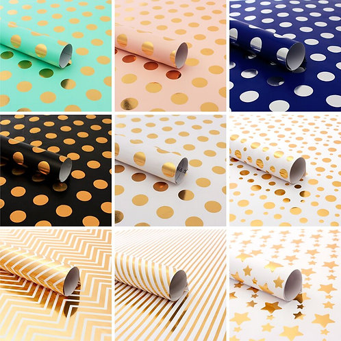 50*70cm Printed Tissue Paper Christmas Wrapping Paper Craft Gift Wrap