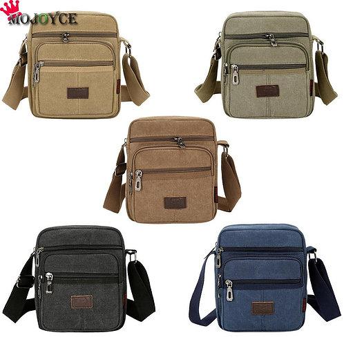 Men Travel Bag Canvas  Men Shoulder Crossbody Bags Good Quality Outdoor Bags
