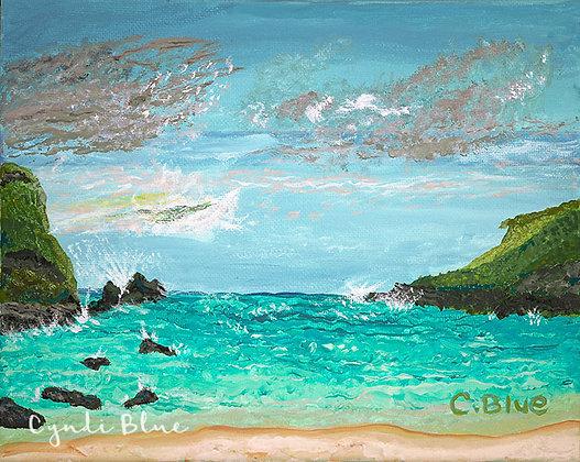 Ocean With Cliffs