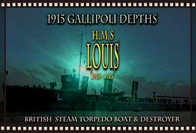 H.M.S. LOUIS DESTROYER 1913-1915