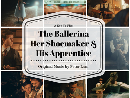 The Ballerina, Her Shoemaker, & His Apprentice Soundtrack ​released on iTunes / Spotify