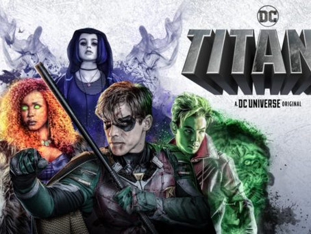 Titans streaming on DC Universe/Netflix