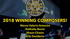 Selected Winning Composer -Los Angeles Live Score Film Festival 2018