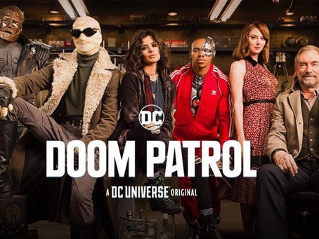 Doom Patrol streaming on DC Universe / HBOmax