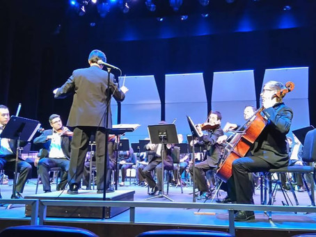 """""""Avenue Labyrinthine"""" performed by the Fullerton College Symphony Orchestra"""