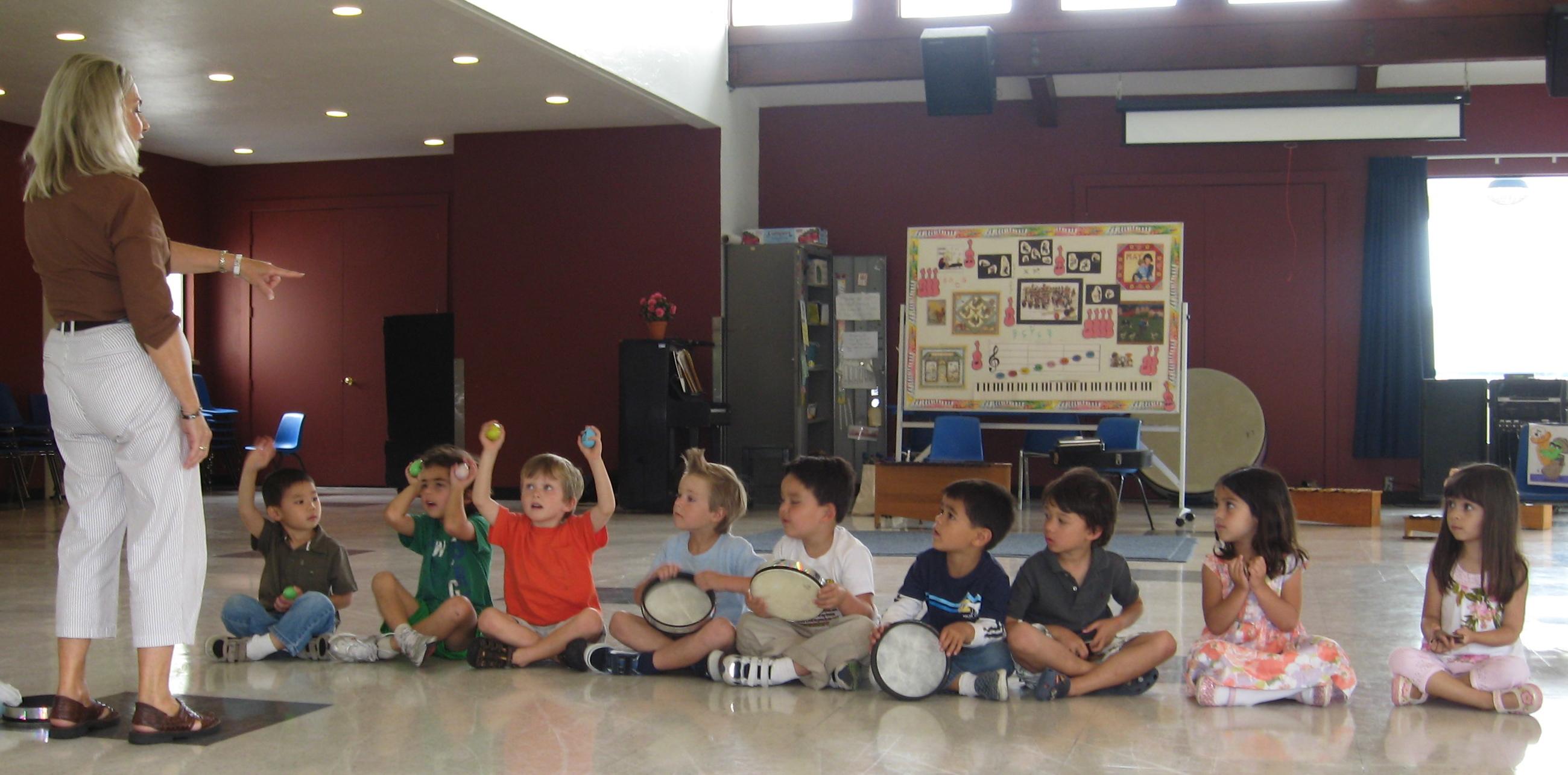 Preschool Music Class Orange County