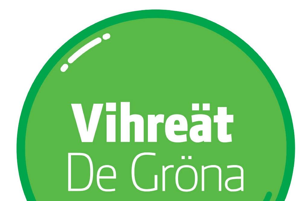 Vihreät De Gröna logo