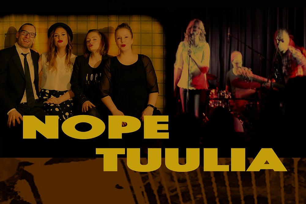 Bändit Nope ja Tuulia