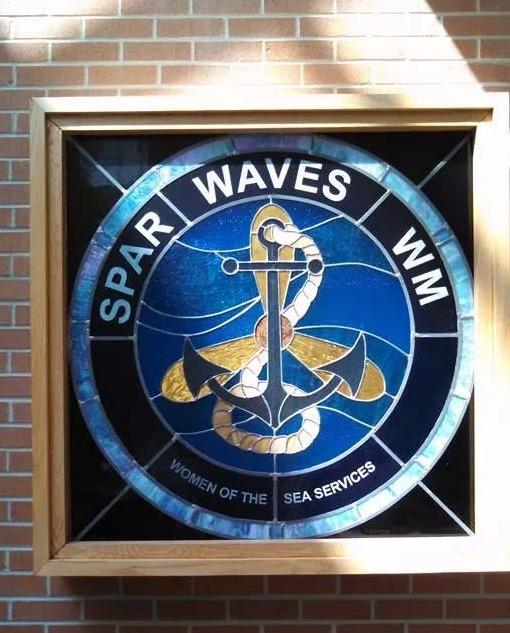 Waves window at Portsmouth Navel Hospita