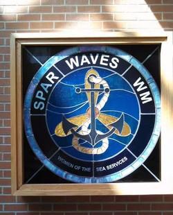 Waves window at Portsmouth Navel Hospita