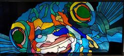Fish face Puffer Fish