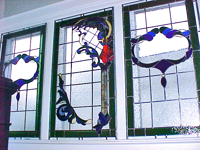 Victorian dragon windows