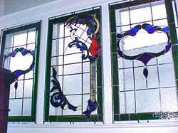 Victorian dragon windows