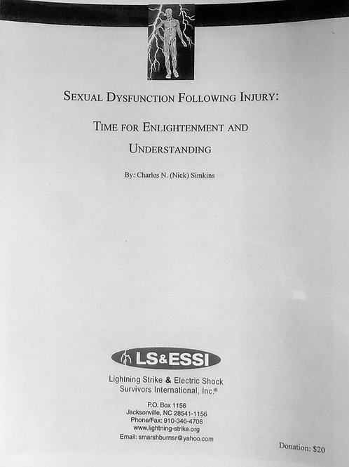 Sexual Dysfunction Folowing Injury