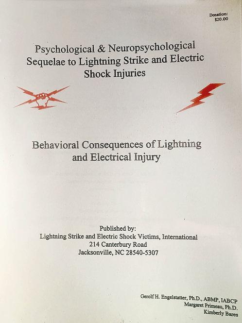 Psychological & Neurological Sequalae To Lightning Strike
