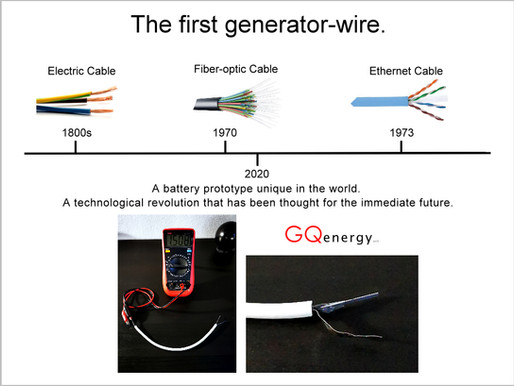 The first generator-wire.